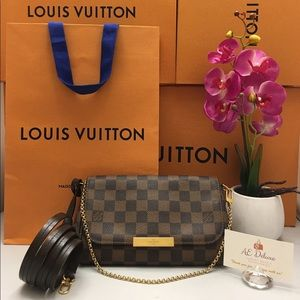 Louis Vuitton Favorite PM Damier Ebene Crossbody